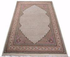 Indo Sarough Mir 300 x 200 cm Orientteppich, handgeknüpft, Schurwolle Beige Neu