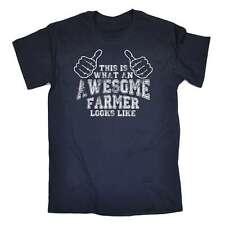 Gracioso Camiseta esto es lo que un impresionante agricultor se parece a la agricultura Camiseta de Cumpleaños