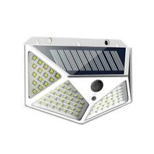 100LED Solar Power Light PIR Motion Sensor Garden Security Wall Lamp G8D1