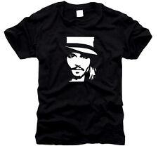 Johnny Depp-UOMO-T-SHIRT, tg S a XXXL