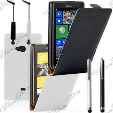 Housse etui coque pochette PU Simili cuir fine pour Nokia Lumia 625 + film ecran
