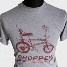 Chopper T-Shirt Vélo Raleigh Grifter Cool Rétro Années 70 80 Vintage Cycle ROUGE