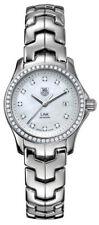 SPECIAL SALE PRICED TAG HEUER LADIES LINK WJF1319.BA0572 DIAMOND PEARL WATCH