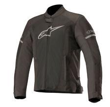 Alpinestars T-FASTER Air Textile/Mesh Motorcycle Riding Jacket (Black/Black)