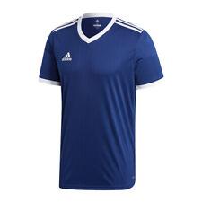Adidas Tabela 18 Maillot manches courtes bleu marine blanc