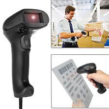 RS232 USB DC Laser Wired Barcode Scanner Bar Code Reader Decoder F Cash Register