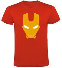 Camiseta Iron Man Mascara Marvel Comics Superheroe Hombre varias tallas