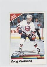 1990-91 Panini Album Stickers #91 Doug Crossman New York Islanders Hockey Card