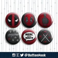 Deadpool Marvel - Pin Badges / Magnets   Superheroes