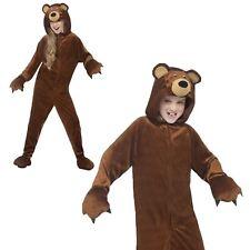 Kinder Jungen Mädchen Teddybär Overall Kostüm Buchwoche Tier Zoo Kostüm Neue