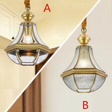 Kitchen Pendant Light Bar Lamp Brass Home Ceiling Lights Glass Pendant Lighting