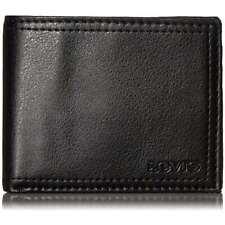 Levi's Men's Slimfold Billfold Trifold Men's Leather Wallet NEW