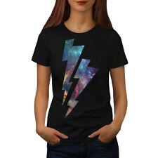 Bolt Cosmos Galaxy Space Women T-shirt S-2XL NEW   Wellcoda