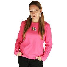 Life is Good Hot Pink Rocket Chilly Dog Long Sleeve Sleep Shirt Snow PJ Top NWT