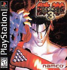Tekken 3 (Sony PlayStation 1, 1998) ps1 COMPLETE GAME CASE MANUAL NES HQ