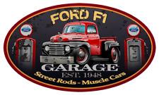 1948 1949 Ford F-1 F1 Pickup Truck Car-toon Wall Art Graphic Sticker