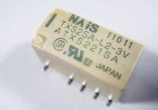 bipolares Relais Gold 3V 2xUM 220V 2A NAIS Japan TXS2SA-L2-3V #12R02%