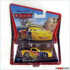 Disney Pixar Cars 2 Jeff Gorvette 5 Mattel diecast
