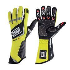 OMP ONE EVO Racing Gloves | FIA 8856-2000 Holomogation | IB/759