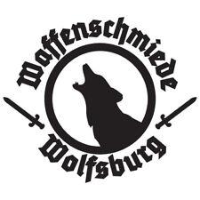Auto Aufkleber Waffenschmiede Wolfsburg Klein Wappen