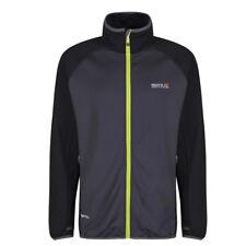 Regatta Fleece Jacket Dalehill Lightweight Hiking Working Stretch Gym Top Black