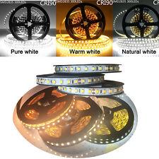 MARSWALLED High CRI90+ 5M LED Strip Light DC12V 300leds or 600leds SMD2835