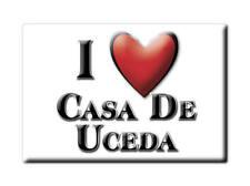 SOUVENIR ESPAÑA CASTILLA LA MANCHA MAGNET SPAIN CASA DE UCEDA (GUADALAJARA)