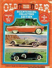 Vintage Automobiles Car Shows Old Car Value Guide; Antique Automobiles Cars