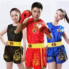 Unisex KungFu MartialArts Taichi Sanda Muay Thai BOXING Fitness Uniform Shorts