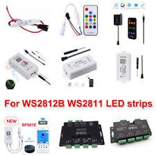Mini LED RF WiFi Bluetooth Music Pixel Controller WS2812B WS2811 LED Strip Light