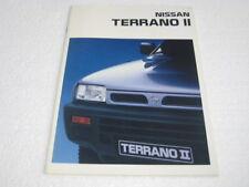 Prospekt Nissan Terrano II von 1993