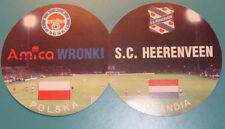 OLD TICKET EC Amica Wronki Poland SC Heerenveen Holland