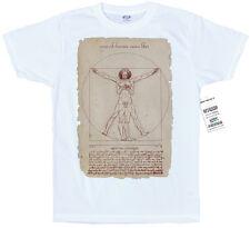 Vitruvian Man-Leonardo Da Vinci Smartphone Diseño T Shirt