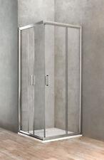 Ponsi box doccia quadrato con due porte scorrevoli 73 - 75 x 73 - 75 cm