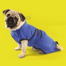 Pet Dog Puppy Quick-dry Bath Towel & Cat Kitten Easy-dry Bathrobe Clothes