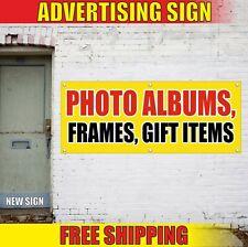 GIFT ITEMS Banner Advertising Vinyl Sign Flag PHOTO ALBUMS FRAMES shop souvenir