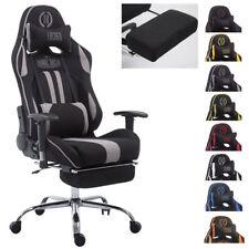Racing Bürostuhl Limit Stoff Schreibtischstuhl mit & ohne Fußstütze Gamingstuhl
