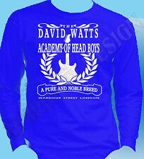 The Jam Kinks inspirado Manga Larga Camiseta David Watts Punk Mod 70 Años 60 Britpop