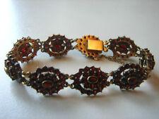 traumhaftes, antikes Granat-Armband, 585, 27,8 Gramm, Bestzustand