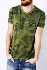 Petrol Industries │ T-Shirt mit floralem Print in leichter Sommerqualität