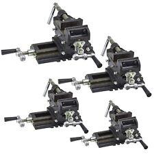 2-Achsen Maschinenschraubstock Schraubstock Kreuztisch Fräs Koordinaten Tisch