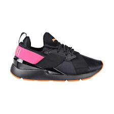Puma Muse Chase Big Kids Shoes Puma Black/Knockout Pink 368036-01