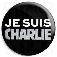 Je Suis Charlie - 25mm Hebdo Freedom Protest Button Badge, Fridge Magnet Option