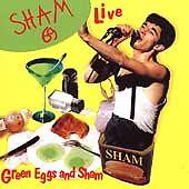 Sham 69 Green Eggs & Sham LIVE CD *SEALED*