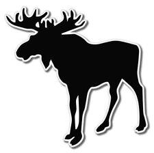 Moose Vinyl Sticker - SELECT SIZE
