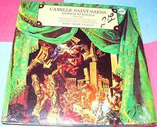 Camille Saint-Saens Samson et Dalila  LP sealed