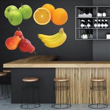 Vers fruit Appels Pear Orange Muursticker Set WS-46655