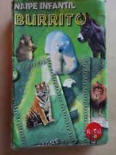 Baraja Infantil Burrito Royal Uruguay Infant Deck Playing Cards Collector Item
