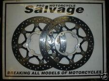 SUZUKI GSXR 1000 2005 2006 K5 K6:BRAKE DISCS - FRONT:USED MOTORCYCLE PARTS