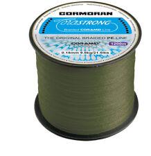 Cormoran die neue CORASTRONG 1200m Spule (3,75€/100m) Geflochtene CORAMID Schnur